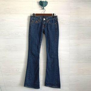 True Religion Bobby Fit Flare Leg Jeans